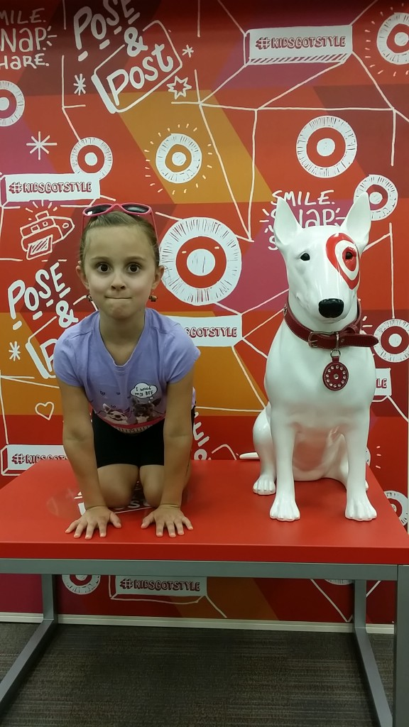 Just in case Target needs a new spokesdog.